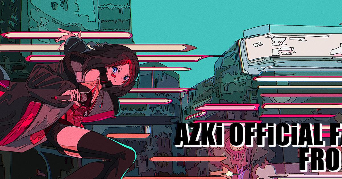 AZKi pixivFANBOX